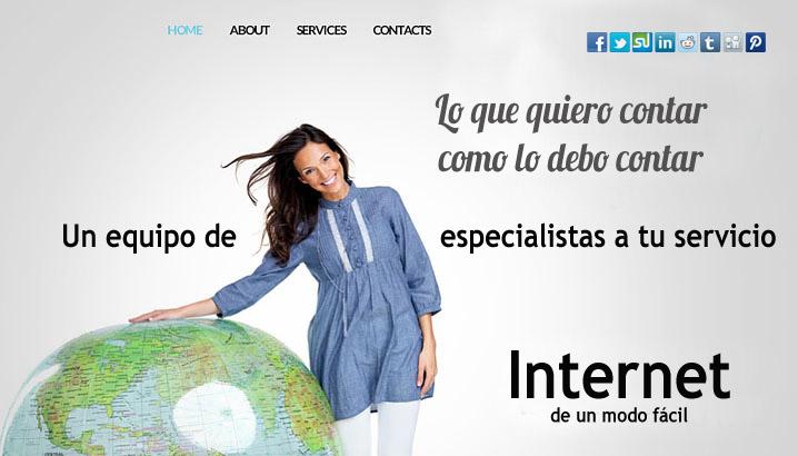 Doblespacio - Páginas web